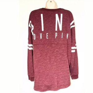 PINK by Victoria's Secret Oversized Sweatshirt